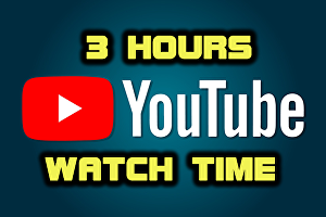 I will watch 3 hours of youtube videos