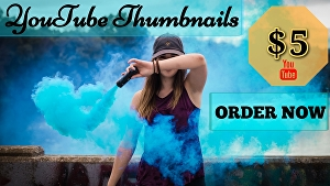 I will create standard and stunning thumbnail for your you tube video
