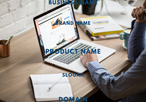 I will generate business name, brand name, with domain and slogans