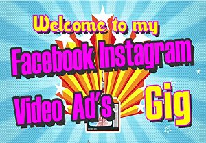 I will create a killer facebook instagram marketing sales video ad