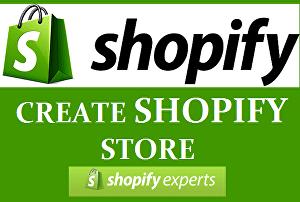 I will create a Shopify dropshipping store or Shopify website