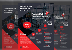 I will design professional event, corporate flyer