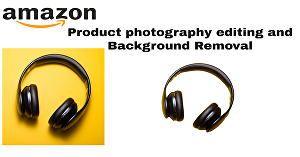 I will do amazon product photography editing and background removal