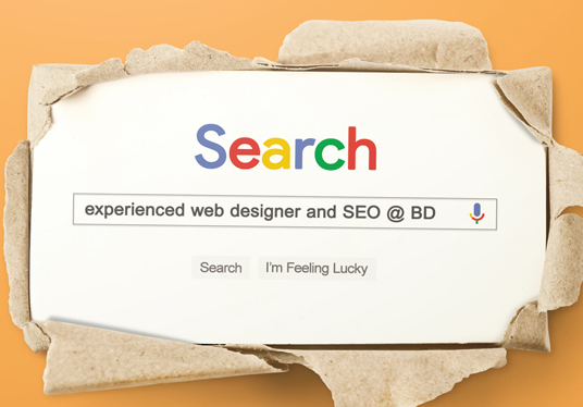 design a Google Search Business Card for you