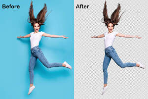 I will remove background from image within 1 hour expert removal