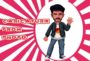 I will draw your caricature From Photo