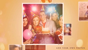 I will make creative happy birthday Video With your Photos