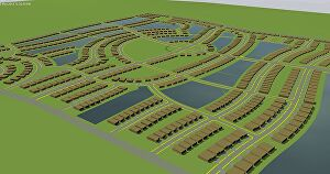 I will create 2d, 3d landscape design, site plan, layout design