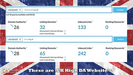 do 10 Premium UK High DA Up To 30+ DoFollow PBN Backlinks