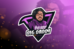 I will design youtube twitch esport gaming logo from your photo