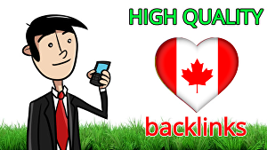 I will make 30 quality dofollow backlinks from .ca Canada sites