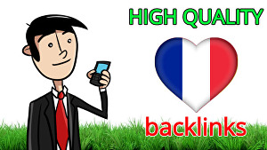 I will Make 30 Quality France dofollow seo backlinks