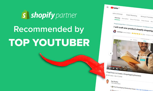 create the best one product Shopify dropshipping store within 24 hours