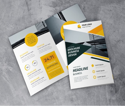 design flyers, leaflet, and brochures for your business