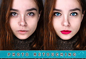 I will do  photo retouch and photo edit using adobe photoshop