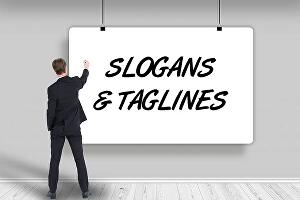 I will create 30 catchy taglines or slogans and business names