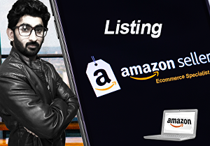I will boost your amazon seller account by listing optimization