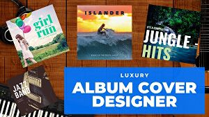 I will design outstanding Album Cover within 24 hours