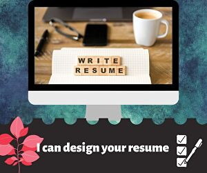 I will write a creative resume within hours