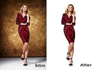 I will edit, retouch and change the background of your product to match the required background