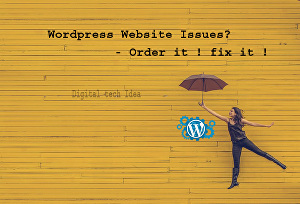 I will fix WordPress website issues, errors, problems