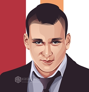 I will create your picture into vector portrait