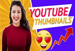 I will design youtube cover, channel art, video thumbnail