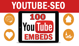 I will Embed your Youtube video to 100 blogs