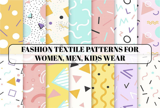 design seamless, sewing, clothing pattern for fabrics