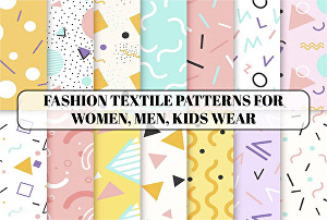 I will design seamless, sewing, clothing pattern for fabrics