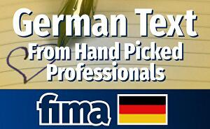 I will write german text for  your blog shop or website - 100 words