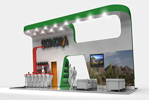 I will do amazing 3d renders of your expo stand, stage or events