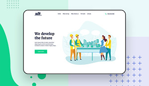 I will convert design into a responsive website