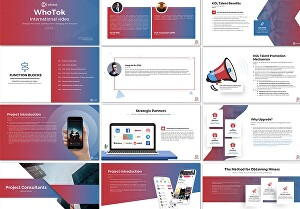 I will design PowerPoint presentation and templates