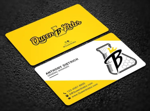 design modern and luxury business card