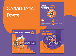 I will design creative  Social media post for your business