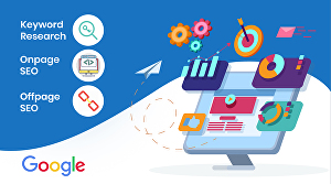 I will provide complete monthly SEO service to get top ranking on Google