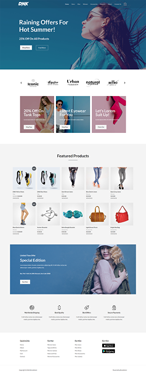 I will Make You an  Ecommerce Website