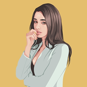 I will Draw portrait illustration from photo