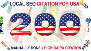 I will do 100 local SEO Citations for USA businesses RANKING