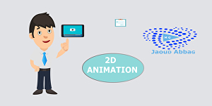 I will Create a professional 2D animation video with the template