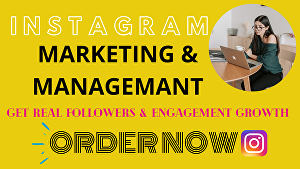 I will do your Instagram marketing to grow followers and engagement For 15 Days