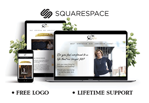 I will create your squarespace website design or redesign