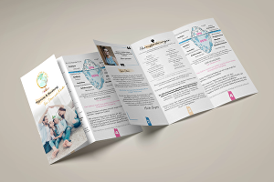 I will design brochure, trifold, bifold, flyer, catalog