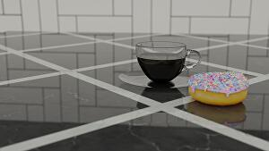 I will create a 3D Model for you using Blender