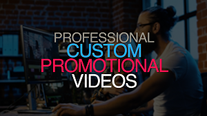 I will create a promotional video ad for your business or product