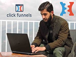 I will build sales funnels in clickfunnels