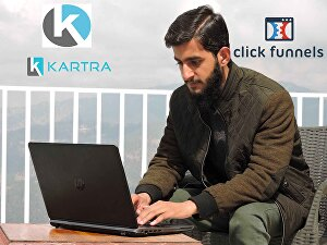 I will build amazing funnels in kartra and clickfunnels