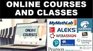 I will do online lessons, courses, and classes