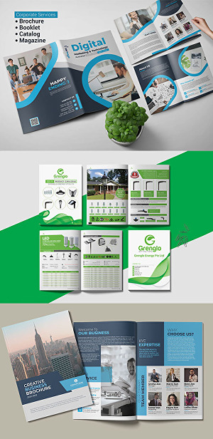 I will Do 8 Page Brochure, Booklet, Proposal, Product Catalog Design for Your Business